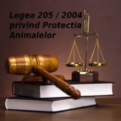 Legea nr. 205/2004 privind protectia animalelor