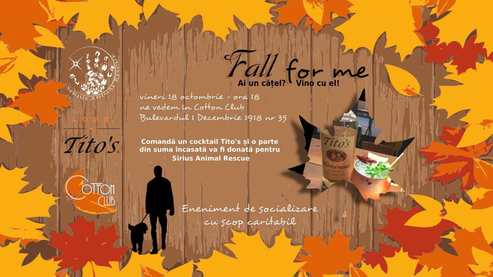 """Fall for me"" – Petfriendly Event"